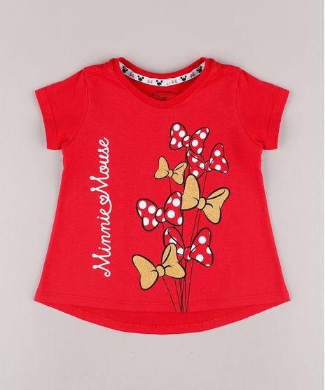 Blusa-Infantil-Minnie-Lacinhos-Manga-Curta-Vermelha-9747428-Vermelho_1