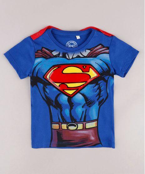 Camiseta-Infantil-Super-Homem-com-Capa-Removivel-Manga-Curta-Azul-Royal-9732129-Azul_Royal_1