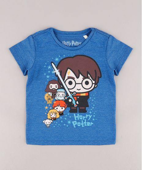 Camiseta-Infantil-Harry-Potter-Manga-Curta-Azul-9730456-Azul_1