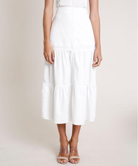 Saia-Feminina-Mindset-Midi-com-Recortes-e-Botoes-Off-White-9856297-Off_White_1