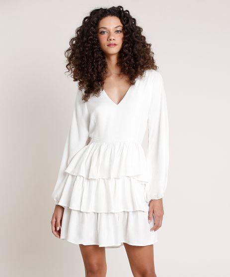 Vestido-Feminino-Mindset-Curto-com-Linho-em-Camadas-Manga-Longa-Off-White-9857235-Off_White_1