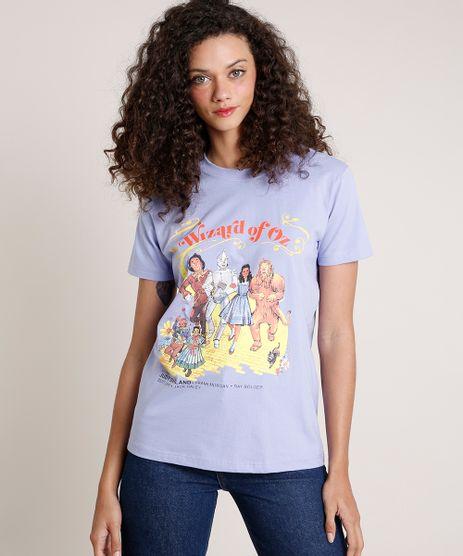 T-Shirt-Feminina-Mindset-O-Magico-de-Oz-Manga-Curta-Decote-Redondo-Lilas-9846889-Lilas_1