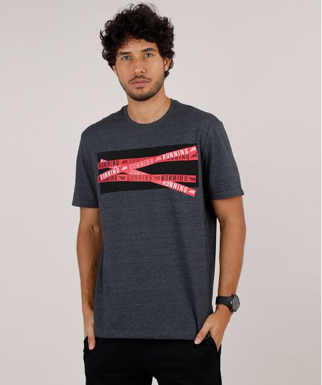 Camiseta-Masculina-Esportiva-Ace--Running--Manga-Curta-Gola-Careca-Cinza-Mescla-Escuro-9824163-Cinza_Mescla_Escuro_1
