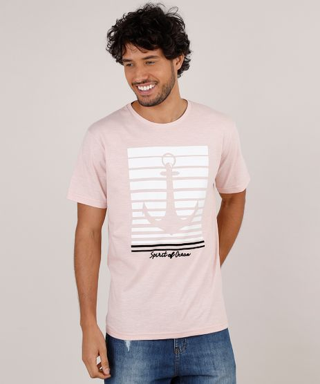 Camiseta-Masculina--Spirit-Of-Ocean--Manga-Curta-Gola-Careca-Rosa-Claro-9743697-Rosa_Claro_1