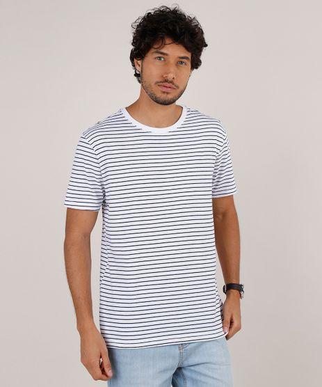 Camiseta-Masculina-Basica-Listrada-Manga-Curta-Gola-Careca-Branca-9776626-Branco_1
