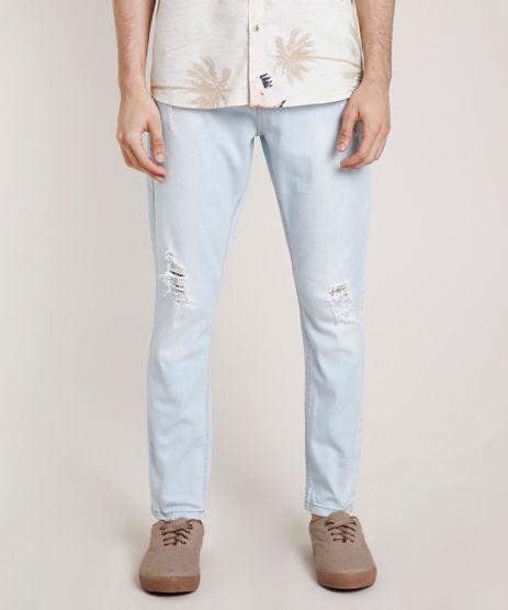 Calca-Jeans-Masculina-Carrot-com-Rasgos-Azul-Claro-9773453-Azul_Claro_1