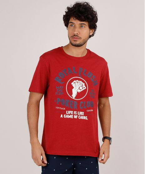 Camiseta-Masculina-Poker-Manga-Curta-Gola-Careca-Vermelha-9723690-Vermelho_1
