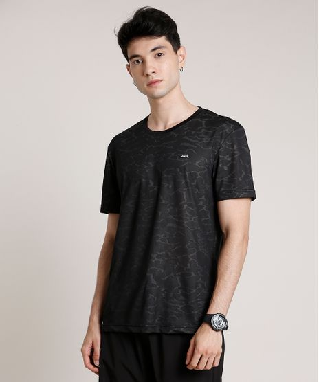 Camiseta-Masculina-Esportiva-Ace-Estampada-Camuflada-Manga-Curta-Gola-Careca-Preta-9659370-Preto_1