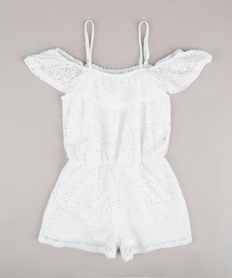 Macaquinho-Infantil-Open-Shoulder-em-Renda-Manga-Curta-Branco-9682139-Branco_1