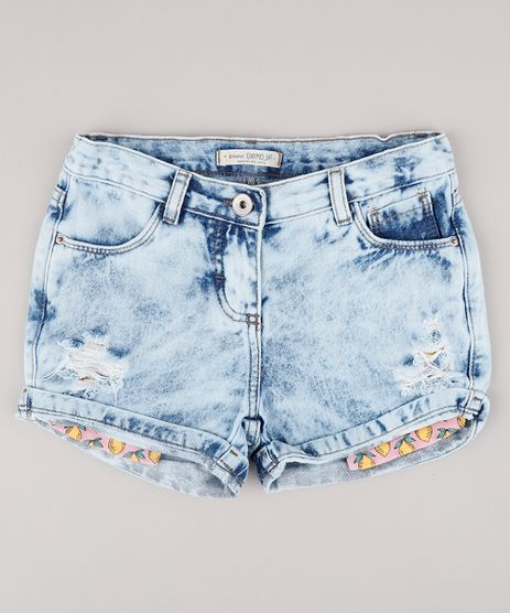 Short-Jeans-Infantil-com-Bolso-Estampado-de-Limao-Azul-Claro-9746438-Azul_Claro_1