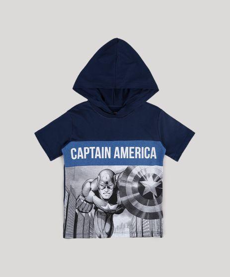 Camiseta-Infantil-Capitao-America-com-Recorte-e-Capuz-Manga-Curta-Azul-Marinho-9730545-Azul_Marinho_1