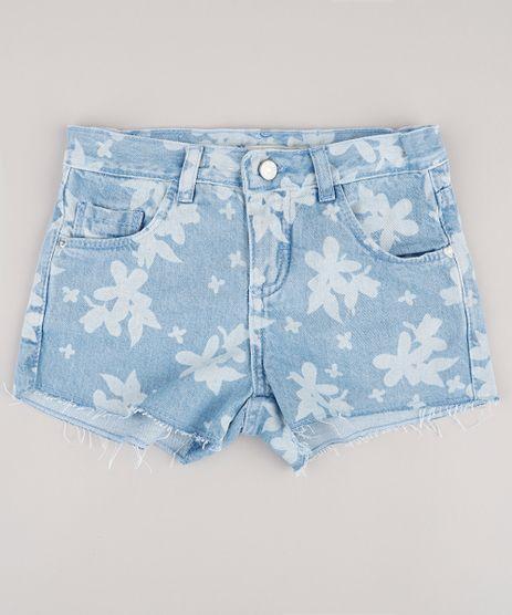 Short-Jeans-Infantil-Estampado-Floral-Azul-Claro-9746448-Azul_Claro_1