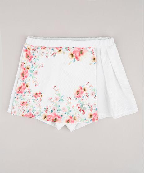 Short-Saia-Infantil-com-Estampa-Floral-e-Transpasse-Branco-9787531-Branco_1