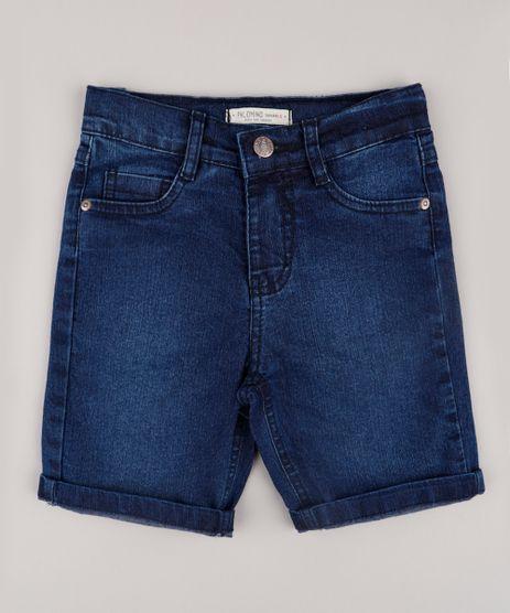 Bermuda-Jeans-Infantil-Reta-Azul-Escuro-9851918-Azul_Escuro_1