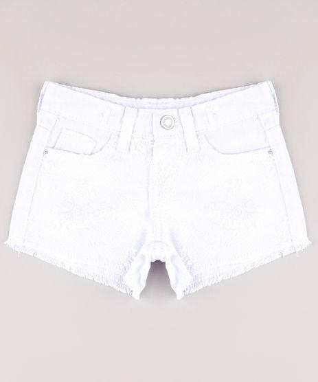 Short-de-Sarja-Infantil-com-Tule-Bordado-Branco-9751707-Branco_1