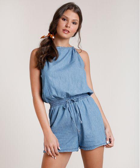 Macaquinho-Jeans-Feminino-Halter-Neck-com-Abertura-Azul-Medio-9830497-Azul_Medio_1