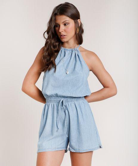 Macaquinho-Jeans-Feminino-Halter-Neck-com-Abertura-Azul-Claro-9830496-Azul_Claro_1