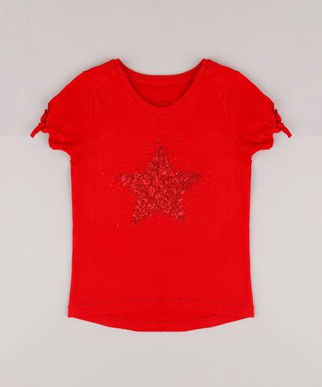 Blusa-Infantil-com-Estrela-em-Paete-Manga-Curta-Vermelha-9765898-Vermelho_1