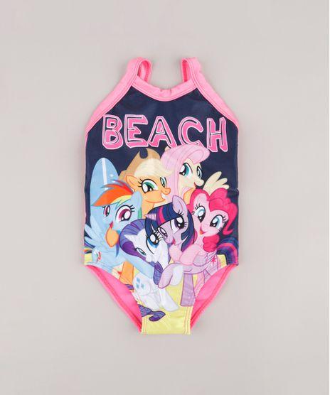 Maio-Infantil-My-Little-Pony-com-Protecao-UV-50--Rosa-9740050-Rosa_1