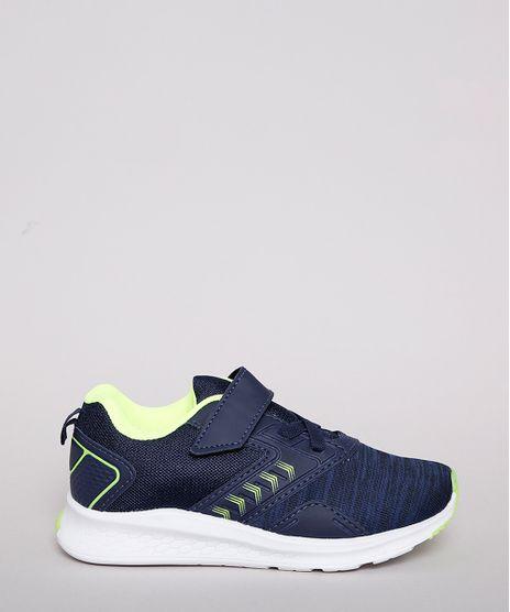 Tenis-Infantil-Esportivo-Running-com-Micro-Furos-e-Velcro-Azul-Marinho-9828815-Azul_Marinho_1