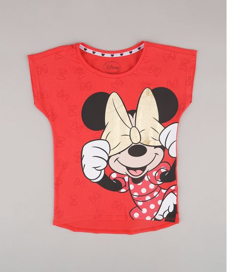Blusa-Infantil-Minnie-Manga-Curta-Vermelha-9782936-Vermelho_1
