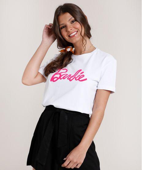 Blusa-Feminina-Barbie-Manga-Curta-Decote-Redondo-Branca-9801373-Branco_1