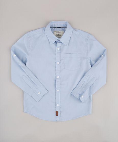 Camisa-Infantil-com-Bolso-Manga-Longa-Azul-9671171-Azul_1