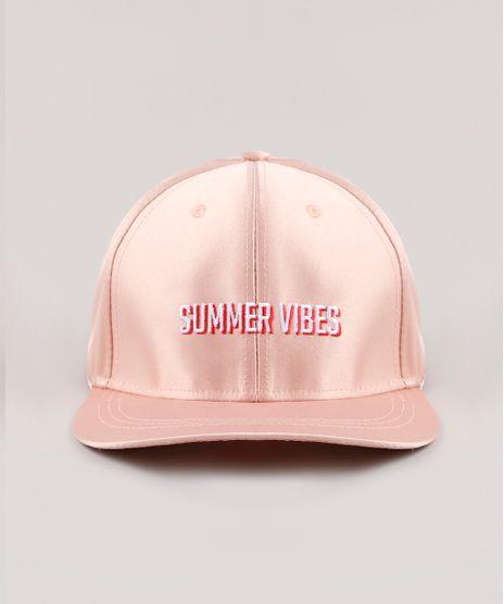 Bone-Masculino-Aba-Reta-com-Bordado--Summer-Vibes--Rose-9769572-Rose_1