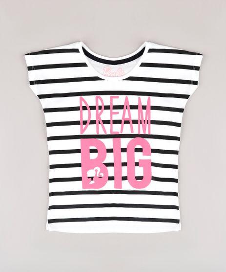 Blusa-Infantil-Barbie--Dream-Big--Listrada-Manga-Curta--Off-White-9757215-Off_White_1
