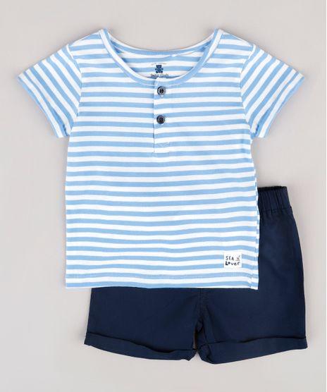 Conjunto-Infantil-de-Camiseta-Listrada-Manga-Curta-Gola-Portuguesa-Azul-Claro---Bermuda-Azul-Marinho-9682004-Azul_Marinho_1