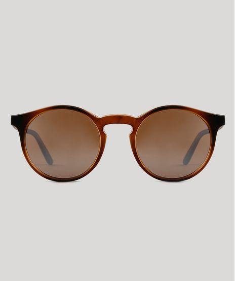 Oculos-de-Sol-Redondo-Feminino-Triya-Marrom-9751821-Marrom_1