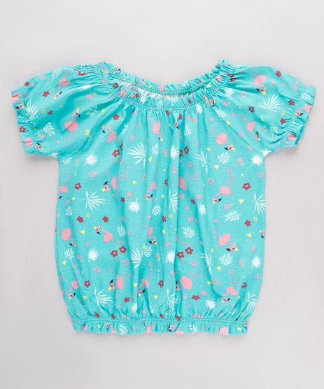 Blusa-Infantil-Ombro-a-Ombro-Estampada-Flamingos-Manga-Curta-Verde-Agua-9826424-Verde_Agua_1