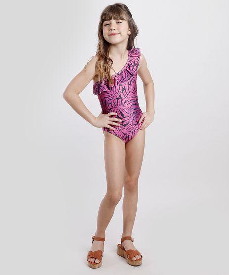 Maio-Body-Infantil-Triya-Tal-Mae-Tal-Filha-Um-Ombro-So-Estampado-de-Folhagem-com-Protecao-UV50--Roxo-9773598-Roxo_1