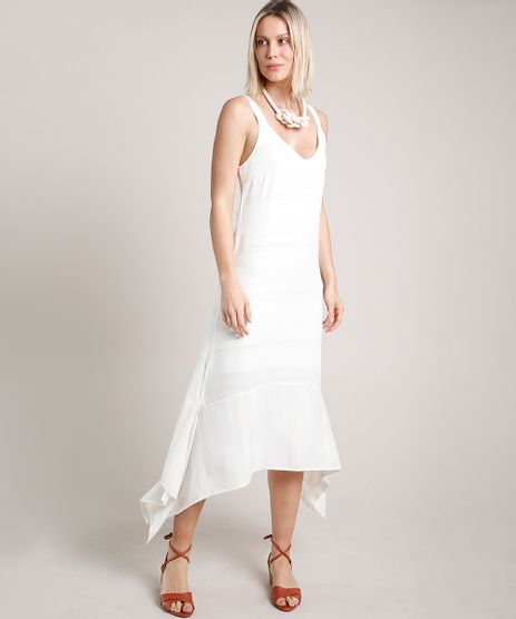Vestido-Feminino-Midi-com-Lurex-Assimetrico-Alca-Media-Off-White-9706400-Off_White_1