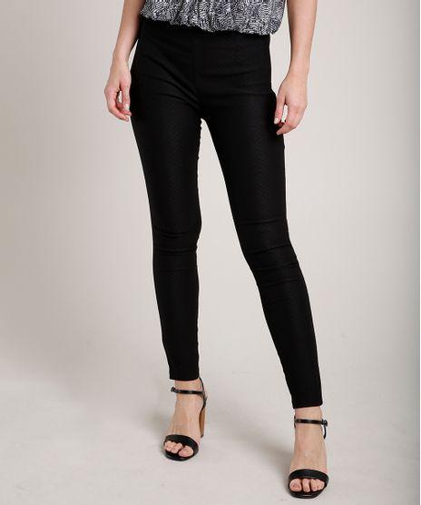 Calca-Feminina-Legging-em-Jacquard-Preta-9688123-Preto_1