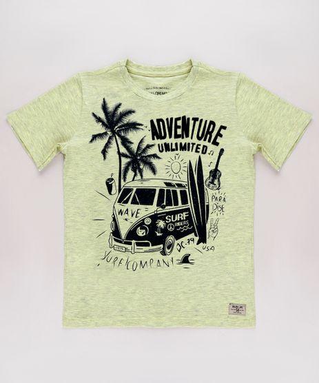 Camiseta-Infantil-Tropical--Adventure-Unlimited--Manga-Curta-Amarela-Claro-9758295-Amarelo_Claro_1