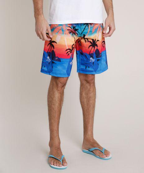 Bermuda-Surf-Masculina-Blueman-Estampada-Poente-Tropical-Laranja-9704296-Laranja_1