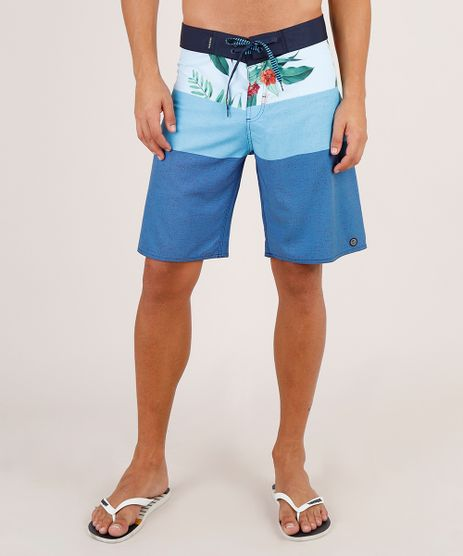 Bermuda-Surf-Masculina-Estampada-Listrada-Floral-Azul-9754291-Azul_1