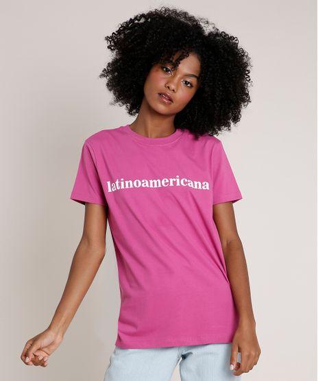 T-Shirt-Feminina-Mindset--Latinoamericana--Manga-Curta-Decote-Redondo-Roxa-9846901-Roxo_1
