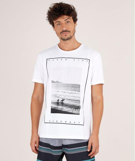 Camiseta-Masculina-Praia--Never-Stop--Manga-Curta-Gola-Careca-Off-White-9738893-Off_White_1