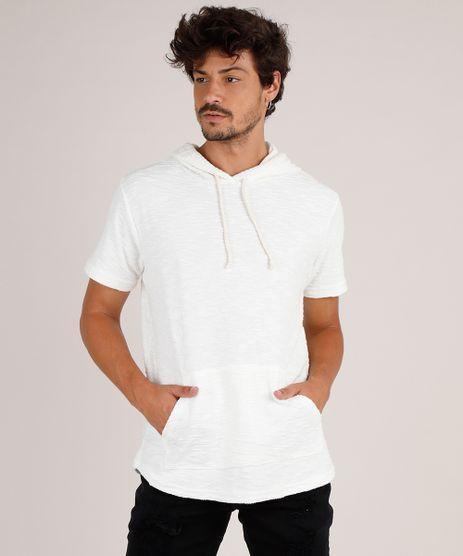 Camiseta-Masculina-em-Moletom-Flame-com-Bolso-e-Capuz-Manga-Curta-Off-White-9757281-Off_White_1