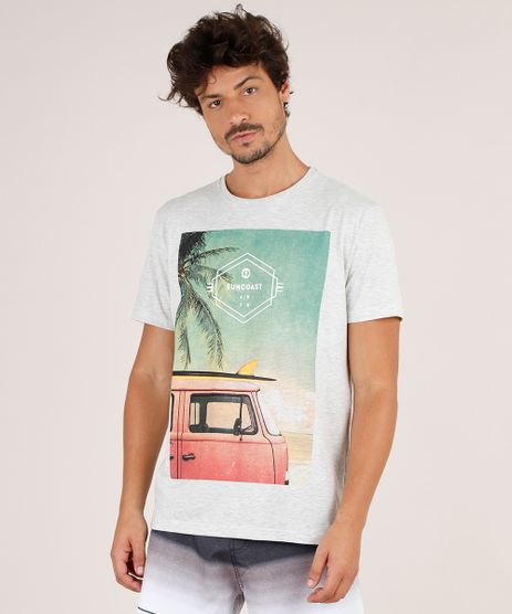 Camiseta-Masculina-Carro-com-Prancha-Manga-Curta-Gola-Careca-Cinza-Mescla-Claro-9738896-Cinza_Mescla_Claro_1