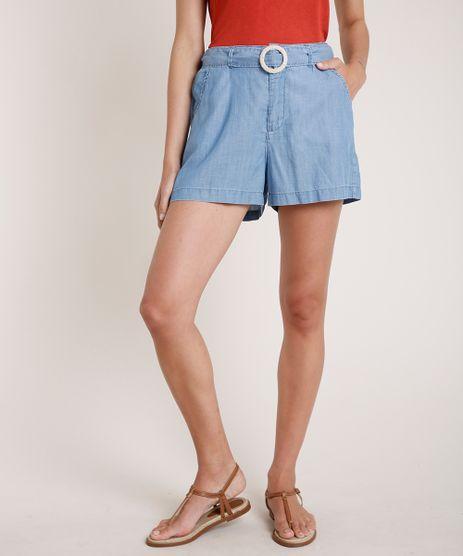 Short-Jeans-Feminino-Agua-de-Coco-Clochard-com-Cinto-Azul-Medio-9819659-Azul_Medio_1