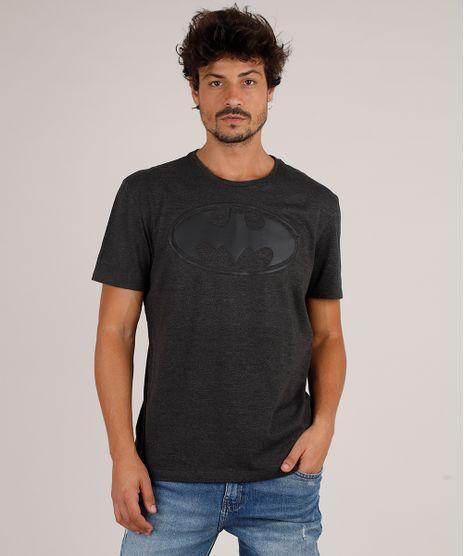 Camiseta-Masculina-Batman-Manga-Curta-Gola-Careca-Cinza-Mescla-Escuro-9727001-Cinza_Mescla_Escuro_1