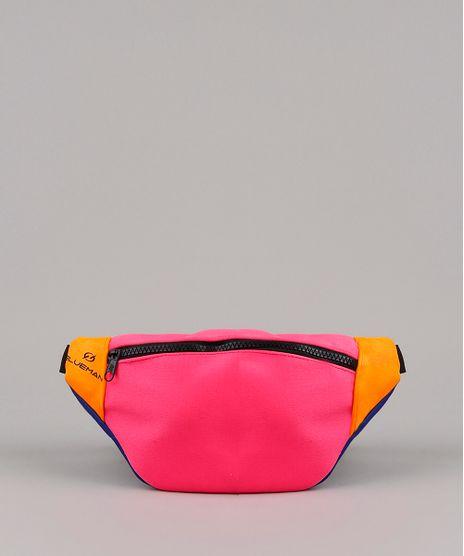 Pochete-Unissex-Blueman-Color-Block-com-Ziper-Pink-9769662-Pink_1