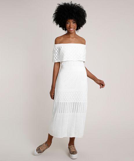 Vestido-Feminino-Midi-Ciganinha-em-Trico-Manga-Curta-Off-White-9787529-Off_White_1