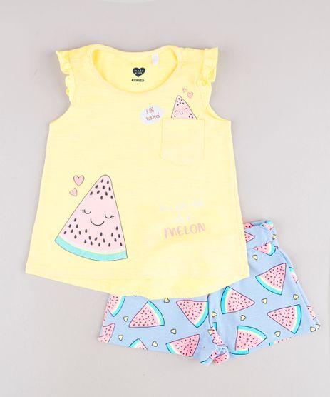 Conjunto-Infantil-de-Regata-Melancia-com-Babado-Amarela---Short-Estampado-Azul-Claro-9785514-Azul_Claro_1