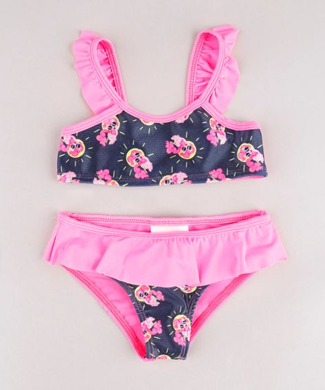 Biquini-Infantil-My-Little-Pony-com-Babado-Protecao-UV50--Rosa-Neon-9740051-Rosa_Neon_1