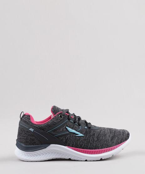 Tenis-Feminino-Esportivo-Ace-Running-Cinza-Mescla-Escuro-9797008-Cinza_Mescla_Escuro_1