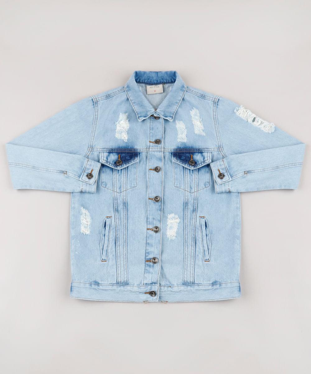 Jaqueta-Jeans-Infantil-Destroyed--Azul-Claro-9793678-Azul_Claro_1